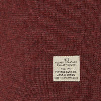 Union Knit Crew Neck Sweater Red