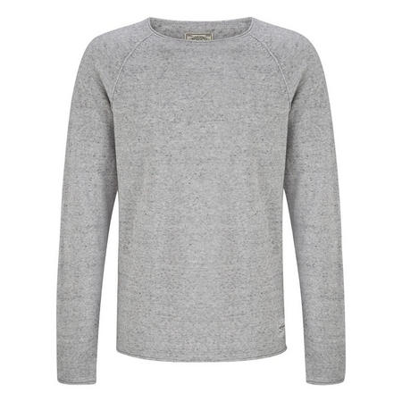 Union Crew Neck Jumper Grey