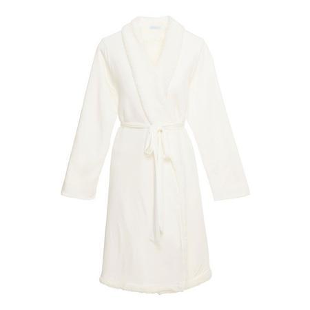 Alpine Chic Robe White