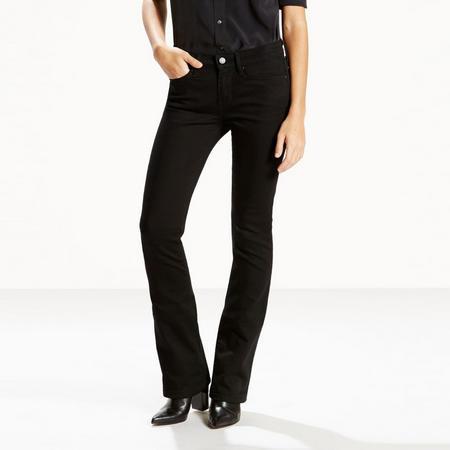 715 Bootcut Jeans Black