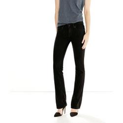 714 Straight Jeans Black