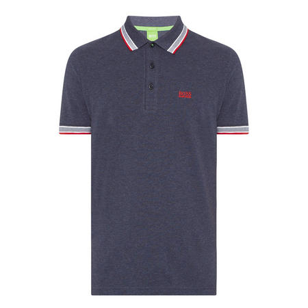 Paddy Tipped Polo Shirt Navy