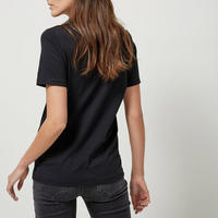 Basic Cotton T-Shirt Black