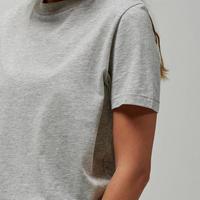 Basic Cotton T-Shirt Grey