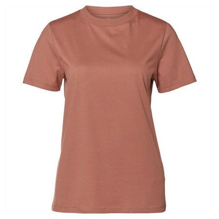 Pima Cotton T-Shirt Tan