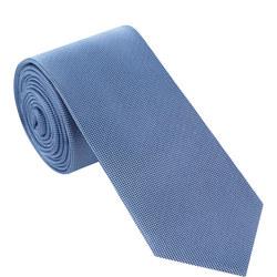 Silk Textured Tie Blue