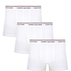 3-Pack Basic Cotton Trunks White