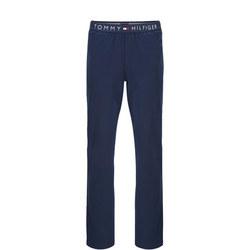 Cotton Pyjama Pants Navy