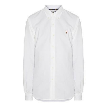 Logo Slim Fit Oxford Shirt