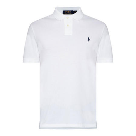 Logo Custom Fit Polo Shirt