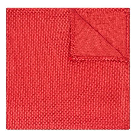 Silk Pocket Square Red