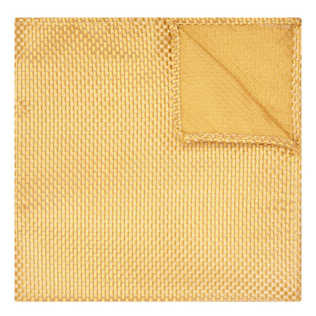 Silk Pocket Square Yellow