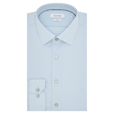 Cannes Fitted Shirt Blue