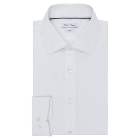 Cannes Fitted Shirt White