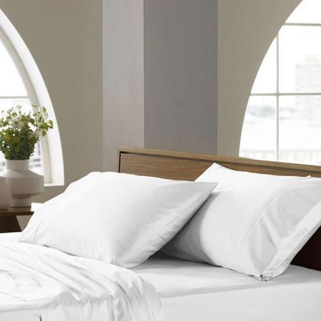 Soft Sateen - 400tc Standard Pillowcase Snow