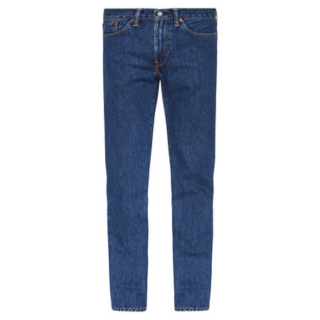 514 Straight Fit Jeans Mid Blue Wash