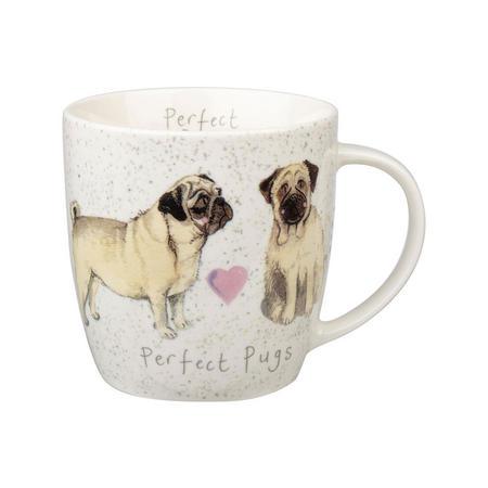 Alex Clark Perfect Pug Squash Mug