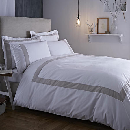 Tailored Duvet Cover Set Natural