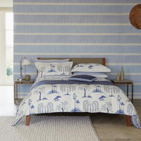 Willow Tree Coordinated Bedding Set Blue