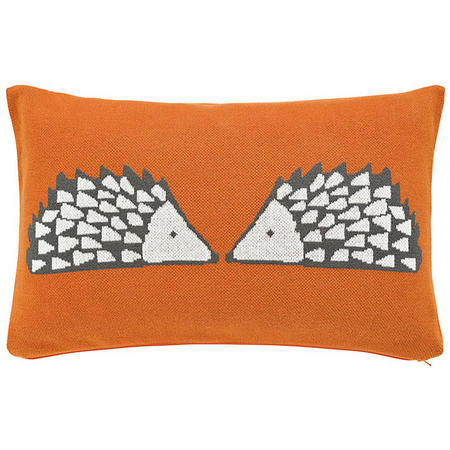 Cute Spike Cushion Orange