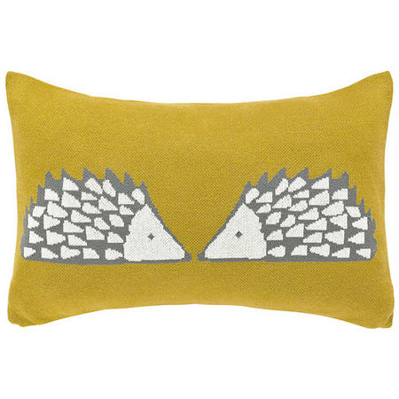 Cute Spike Cushion Mustard