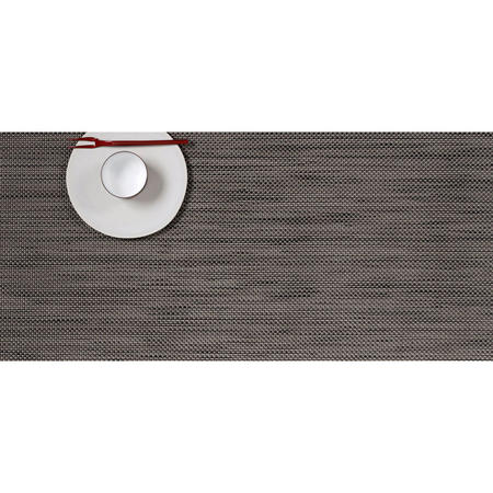 Mini Basketweave Placemat Light Grey