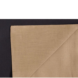 Linen Napkins Black and Gold
