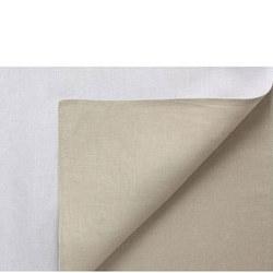 Linen Napkins White and Cream
