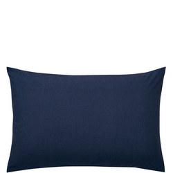 Percale Standard Pillowcase Navy