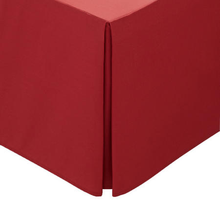 Percale Base Valance Sheet Red