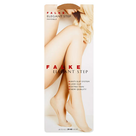 Elegant Step Invisible Socks Tan