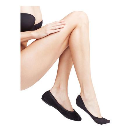 Elegant Step Invisible Socks Black