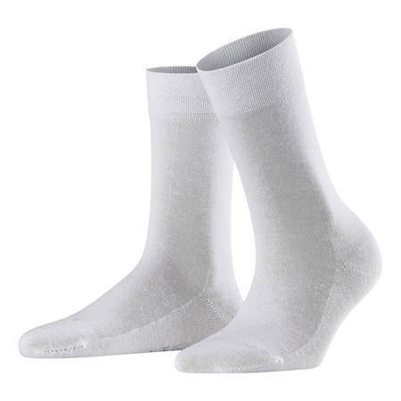 Sensitive London Ankle Socks White