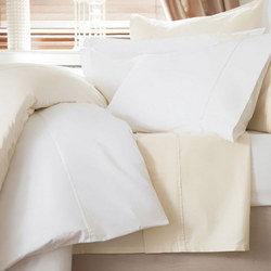 600 Thread Count Cotton Sateen Fitted Sheet White