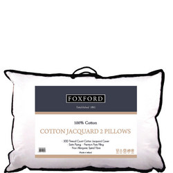 Cotton Piped Pillow Pair