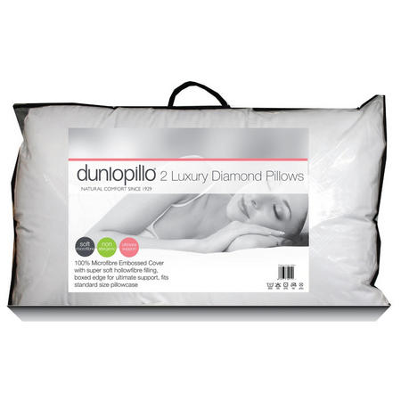 Diamond Luxury Ultimate Support Pillow Pair