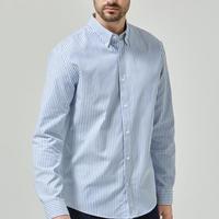 Slim Fit Long Sleeve Shirt Blue