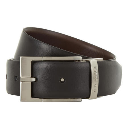 Connary Leather Belt Black
