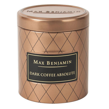 Dark Coffee Absolute Candle in Tin