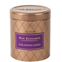 Pink Pepper Coffee Candle in Tin