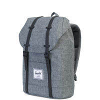 Retreat Leather Backpack Charcoal