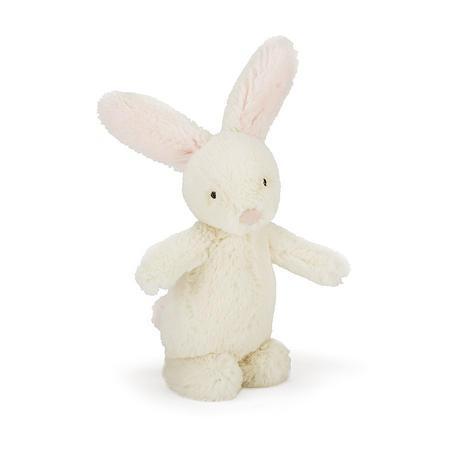 Bobtail Bunny Rattle Pink