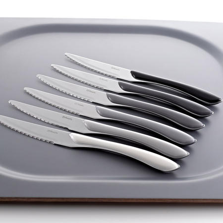 Eclat Spirit Mono 24 Piece Cutlery Set Multicolour