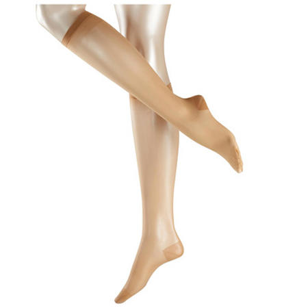 Leg Vitalizer 20 Denier Knee High Socks Camel