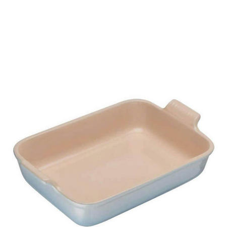 Stoneware Rectangular Deep Dish 26 cm Coastal Blue