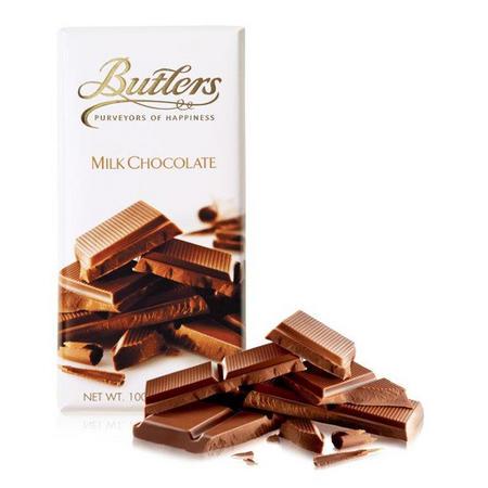 Milk Chocolate Bar, 100g