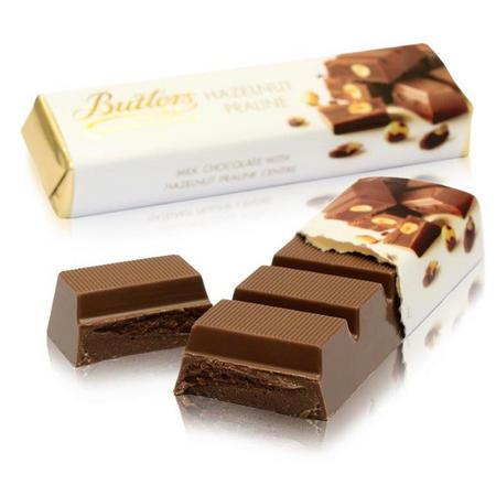Milk Chocolate Hazelnut Praline Bar, 75g