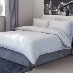 Hotel Suite Platinum Duvet Cover Set