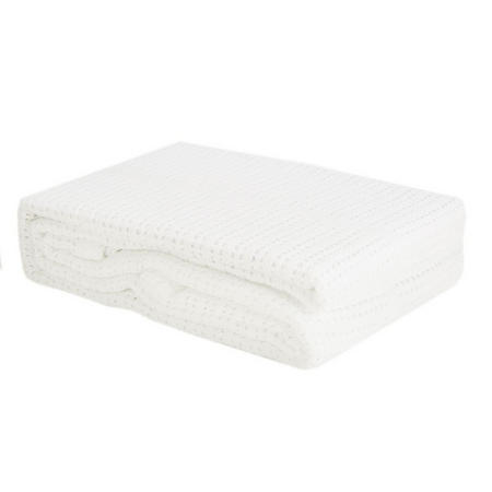Cellular Blanket Pram White