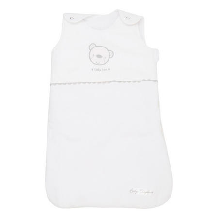Star Ted Snuggle Pouch White